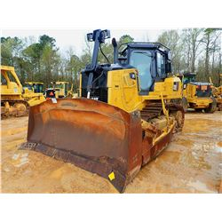 2013 CAT D7E CARWLER TRACTOR, VIN/SN:TAN01283 - SEMI U-BLADE WITH HYD TILT, DIFF STEER, CAB, A/C, ME