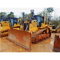 2016 CAT D6T XWVP CRAWLER TRACTOR, VIN/SN:WRN00539 - 6 WAY BLADE, DIFF STEER, RIPPER, PLUMBED FOR GP