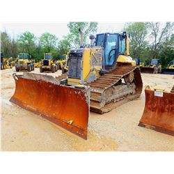 2015 CAT D6N LGP CRAWLER TRACTOR, VIN/SN:PAB02421 - 6 WAY BLADE, DIFF STEER, PLUMBED FOR GPS, CAB, A