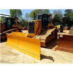 2011 CAT D6N LGP CRAWLER TRACTOR, VIN/SN:GHS00829 - 6 WAY BLADE, DIFF STEER, PLUMBED FOR GPS, CAB, A