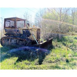 CAT D5 CRAWLER TRACTOR, - (SALVAGE) (SELLING ABSENTEE: LOCATED AT 2225 HIGHWAY 14 WEST, AUTAUGAVILLE