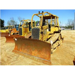 1995 CAT D5H CRAWLER TRACTOR, VIN/SN:8RC06140 - 6 WAY BLADE, RIPPER, CANOPY, SWEEPS, SCREENS, METER