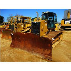 2015 CAT D6K2 LGP CRAWLER TRACTOR, VIN/SN:RST01724 - 6 WAY BLADE, CAB, A/C, METER READING 2,121 HOUR