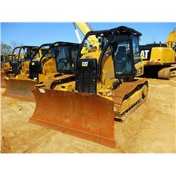 2016 CAT D5K2 XL CRAWLER TRACTOR, VIN/SN:KW202268 - 6 WAY BLADE, CAB, A/C, PLUMBED FOR GPS, SWEEPS,