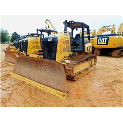 2016 CAT D5K2 LGP CRAWLER TRACTOR, VIN/SN:KY202253 - 6 WAY BLADE, CANOPY, METER READING 1,787 HOURS