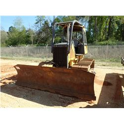 2008 JOHN DEERE 650J LGP CRAWLER TRACTOR, VIN/SN:154410 - CANOPY, SWEEPS, SCREENS, METER READING 4,1