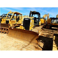 2014 CAT D3K2 LGP CRAWLER TRACTOR, VIN/SN:KLL00394 - 6 WAY BLADE, CANOPY, METER READING 1,027 HOURS
