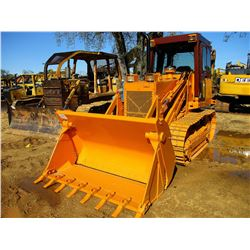 CASE 1155E CRAWLER LOADER, VIN/SN:JAK0009857 - MP BUCKET, WINCH, CAB, A/C, LOW HOURS