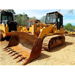 CAT 963 CRAWLER TRACTOR, VIN/SN:48Z00287 - BUCKET, CAB, A/C, METER READING 5,779 HOURS