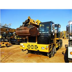 "2012 GRADALL XL4100 IV WHEELED EXCAVATOR, VIN/SN:4100000502 - 48"" BUCKET, CAB, A/C(COUNTY OWNED)"