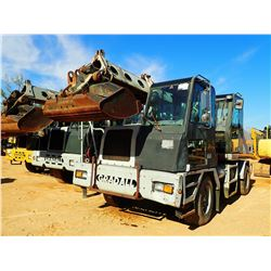 GRADALL XL3100 WHEELED EXCAVATOR, VIN/SN:0316320 - CUMMINS 5.9 DIESEL ENGINE, MANUAL EATON 9 SPD TRA