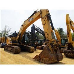 "2012 CAT 349EL HYDRAULIC EXCAVATOR, VIN/SN:TFG00491 - 13' STICK, 72"" BUCKET, CAB, A/C, METER READING"