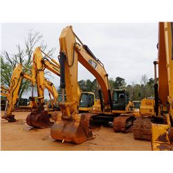 "2007 CAT 330DL HYDRAULIC EXCAVATOR, VIN/SN:MWP01528 - 10' STICK, 60"" BUCKET, CAB, A/C, METER READING"