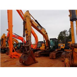 "2011 CAT 324DL HYDRAULIC EXCAVATOR, VIN/SN:PYT00290 - 9' STICK, 42"" BUCKET, CAB, A/C, METER READING"