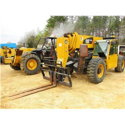 2010 CAT TL1255 TELESCOPIC FORKLIFT, VIN/SN:TBN00673 - 12,000LB CAPACITY, 55' REACH, OUTRIGGERS, FOR