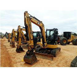"""2011 CAT 305.5D CR MINI EXCAVATOR, VIN/SN:FLZ00415 - 6' STICK, 24"""" BUCKET, HYD THUMB, AUX HYD, BLADE"""