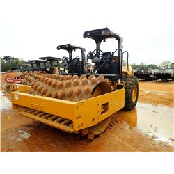 """2015 CAT CP56B ROLLER, VIN/SN:LHC00716 - VIBRATORY, 84"""" PADFOOT, DRUM, CANOPY, METER READING 1,696 H"""