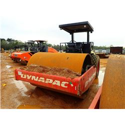 """DYNAPAC CA250 II ROLLER, VIN/SN:10000108L0A008540 - VIBRATORY, 84"""" SMOOTH DRUM, CANOPY, METER READIN"""