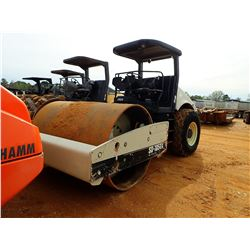 """INGERSOLL-RAND SD-105DX ROLLER, VIN/SN:178578 - VIBRATORY, 84"""" SMOOTH DRUM, CANOPY, METER READING 1,"""