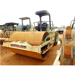 """INGERSOLL-RAND SD-100D PRO PAC ROLLER, VIN/SN:168843 - VIBRATORY, 84"""" SMOOTH DRUM, CANOPY, METER REA"""