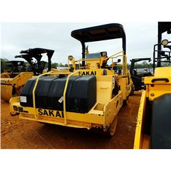 "2014 SAKAI SW900-I ROLLER, VIN/SN:VSW27-30151 - TANDEM, VIBRATORY, 84"" SMOOTH DRUMS, CANOPY, METER R"
