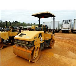 """2007 CAT CB-334E II ROLLER, VIN/SN:C3A0486 - VIBRATORY, TANDEM, 50"""" DRUMS, CANOPY, METER REAIDNG 5,6"""
