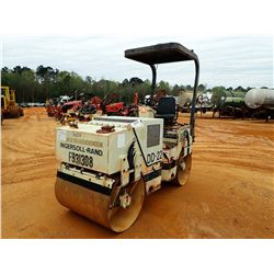 """INGERSOLL-RAND DD-22 ROLLER, VIN/SN:6204SGC - TANDEM, 39"""" DRUMS, VIBRATORY, CANOPY (COUNTY OWNED)"""