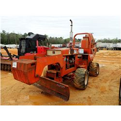 DITCH WITCH 6510 TRENCHER, VIN/SN:654456 - 4X4, DIESEL ENGINE, A645 TRENCHER, BLADE, ROLL BAR