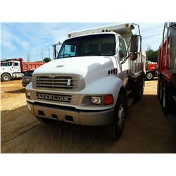 2003 STERLING DUMP, VIN/SN:2FZHCHDK93AL63384 - T/A, 3126 CAT DIESEL ENGINE, ALLISON A/T, 14' OX DUMP