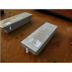 ABOVE BED ALUMINUM TOOL BOX (A-1)