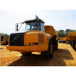 2003 VOLVO A30D ARTICULATED DUMP, VIN/SN:10567 - CAB, A/C, 30/65R75 TIRES, METER READING 17,140 HOUR