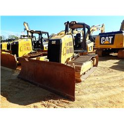 2016 CAT D5K2 CRAWLER TRACTOR, VIN/SN:KY202194 - 6 WAY BLADE, SYSTEM 1 U/C, CANOPY, METER READING 3,