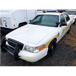 2009 FORD CROWN VICTORIA, VIN/SN:2FAHP71V59X140518 - (SELLING ABSENTEE-LOCATED IN FT PAYNE, ALABAMA)