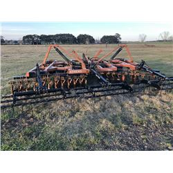 ATHENS 116 LEVELING DISK, S/N J11892, 20' WIDTH W/FARM KING LEVELING STYTEM (SELLING ABSETEE, LOCATE