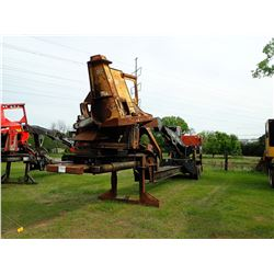 BARKO 495ML LOG LOADER, VIN/SN:10849523813 - CAB, A/C, CSI DELIMBER, MTD ON PITT'S TRAILER S/N: 1043