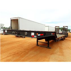 """1996 PRO TRAC LOWBOY TRAILER, VIN/SN:TR6524188 - T/A, 35' LENGTH, 8'-6"""" WIDE, DOVETAIL, RAMPS, 10R/1"""