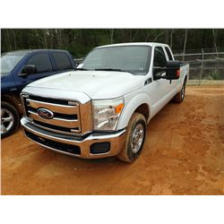 2012 FORD F250, VIN/SN:NM0LS7AN5CT084827 - EXTENDED CAB, GAS ENGINE, A/T, ODOMETER READING 36,745 MI
