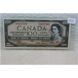 Canada One Hundred Dollar Bill (1)