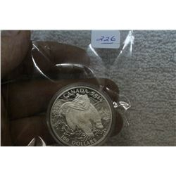 Canada One Hundred Dollar Silver Coin (1)