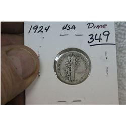 U.S.A. Ten Cent Coin (1)