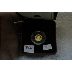 Canada 1/25 Ounce (1.27 grams) Gold Coin