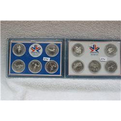 Edmonton Commonwealth Games Medallions (10)
