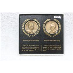Bronze Medallions (2)
