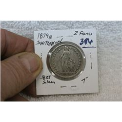 Switzerland 2 Francs