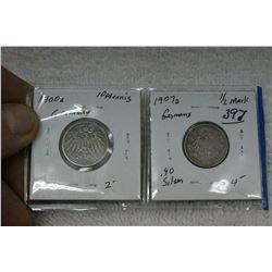 German Coins (2)