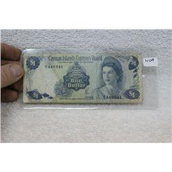 Cayman Island Currency Board One Dollar
