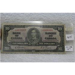 Bank of Canada Ten Dollar Bill (1)