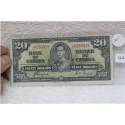 Bank of Canada Twenty Dollar Bill (1)