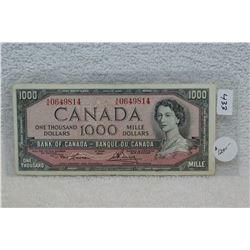 Canada One Thousand Dollar Bill (1)
