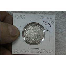 Canada Twenty Cent Coin